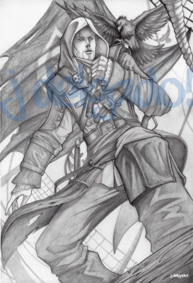 Assassins Creed Edward Kenway.
