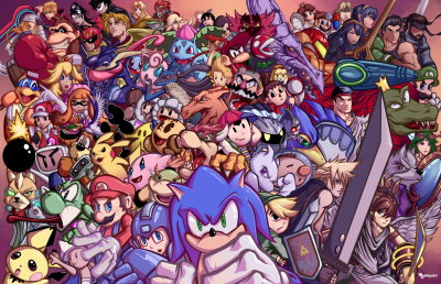 Ultimate super smash bros