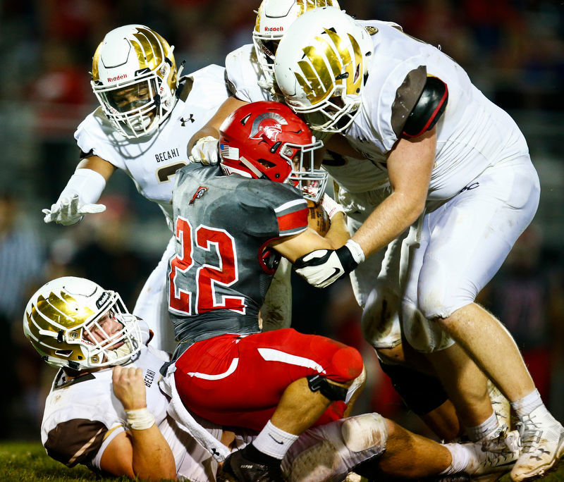 Bethlehem Catholic scores last 17 points, beats Parkland 24-16