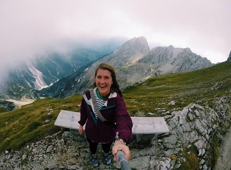 climbing the alps