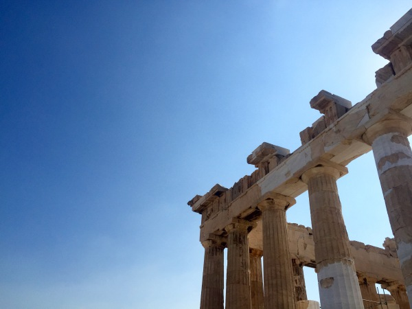 parthenon in part