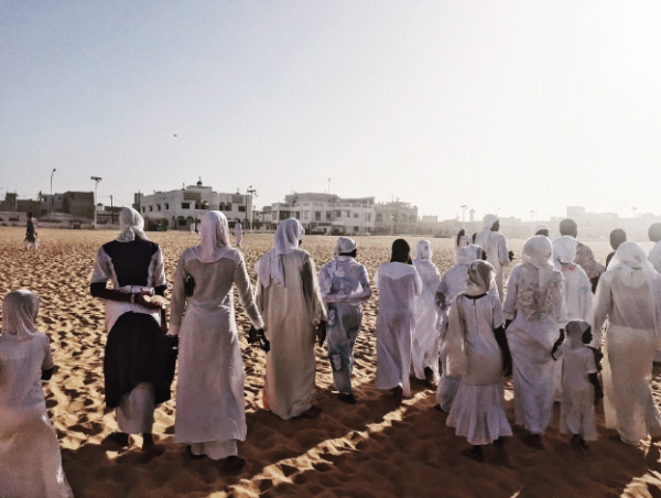 desert walks & religious talks