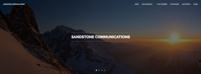 We welcome Sandstone Communications to the team