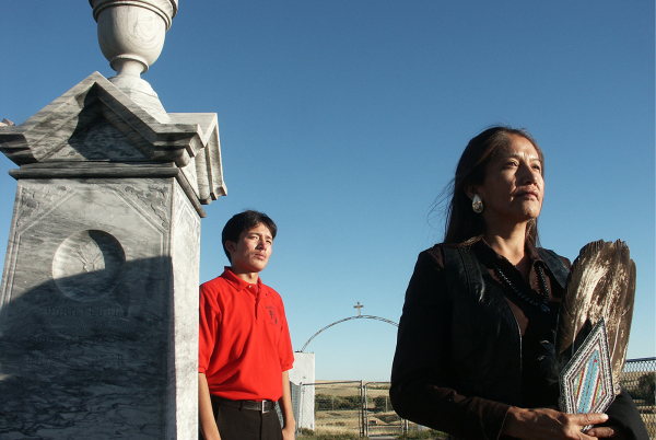 """A Prayer for our Ancestors at Wounded Knee"""