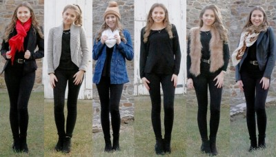 Five Ways to Style an All-Black Outfit