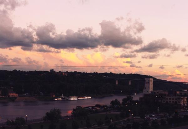 Sunset in St Paul