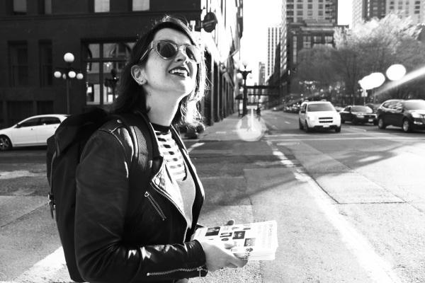 Portrait of Aoife Ryan, MN Artist Promoter