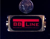 BBTLine broadband low loss high power 2 way RF splitter combiner SMP Connectors