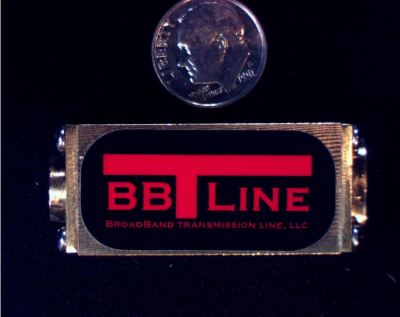 BBTLine broadband 2 way RF splitter combiner SMP Connectors