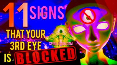 11 SIGNS THAT YOUR THIRD EYE IS BLOCKED, IMBALANCED OR UNDERACTIVE