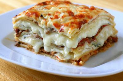 Meet Sauce Lasagna (Beef or Chicken)