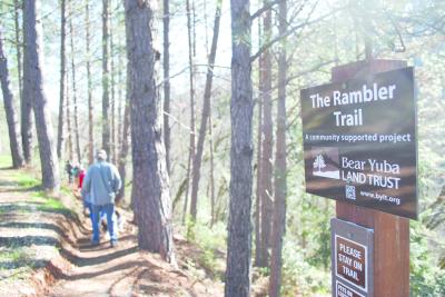 BYLT opens Rambler Trail near Alta Sierra