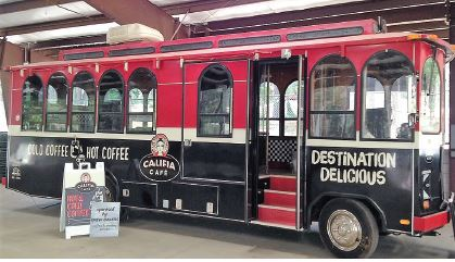 Coffee shop rolls to Fairgrounds