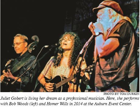 Musician found her groove in Nevada County