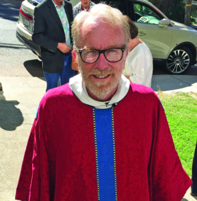 Congregation bids sad goodbye to longtime rector