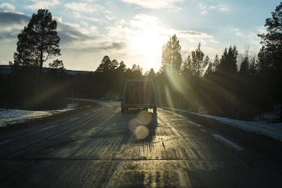 Norway, between Kautokeino and Covdamohwki. The team is moving to prepare a mission.
