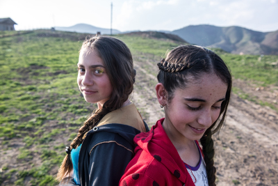 Tsaghkashen, Martakert region, NKR. A village located close  the biggest gold mines of the country. Most of its citizens work there. Tatevik and Shoushan are two sisters. one wants to become a teacher to educate the children and the other wants to become a doctor. Both of them don't want to leave their village