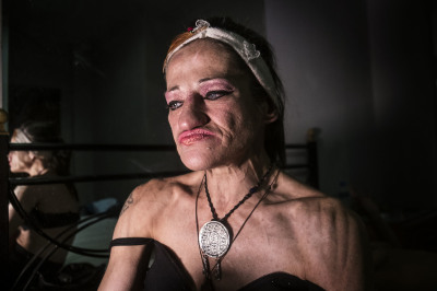 Marilena, 50 Years. We meet in one of the many hotels around Omonia Square. Marilena has been a prostitute since she was twenty. Marilena wanted to be an archaeologist, but maybe she says because she dreams of going to search for that twenty-year-old son that her family keeps away and hidden