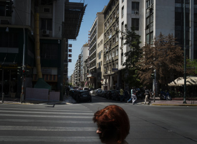 The area around Omonia and Sokratou. This square is the place for elderly sex workers.