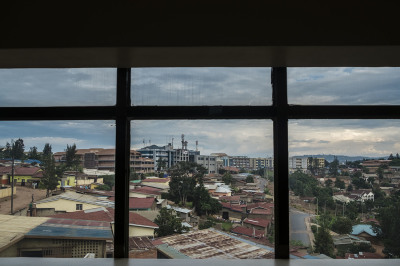 View of the capital Kigali
