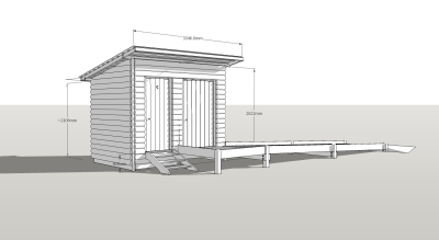 Disabled Compost Toilet Design Visual