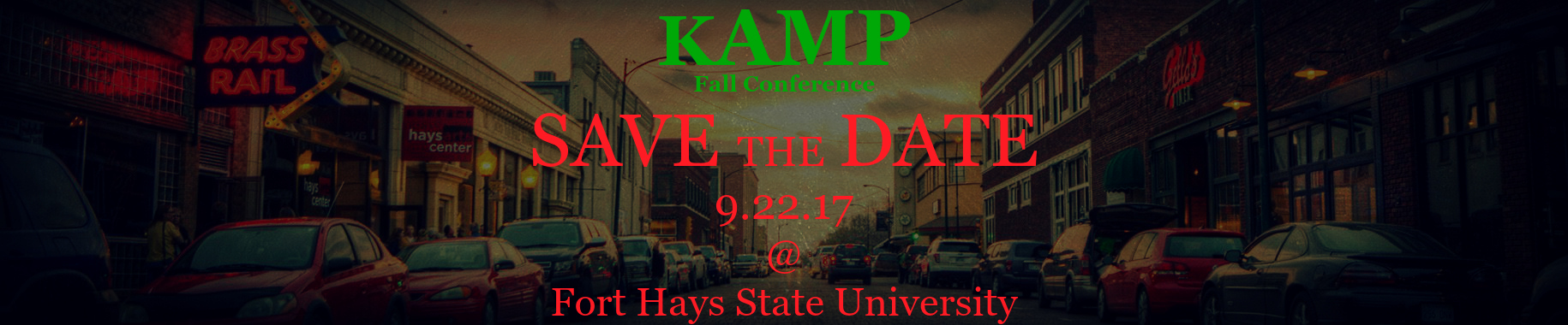 Save the Date KAMP Fall Conference