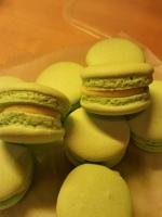 key lime macarons