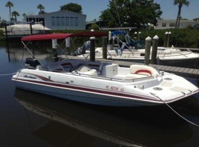 20FT Deck boat