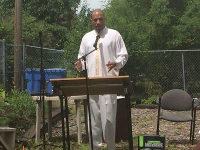 Pastor Terrance Miller - In The Garden Service