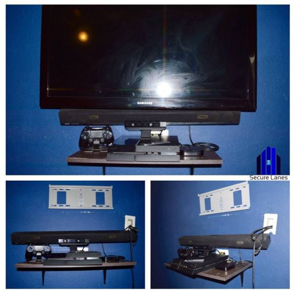 "42"" TV + Entertainment System"