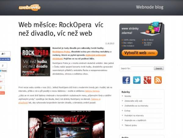 Blog Webnode