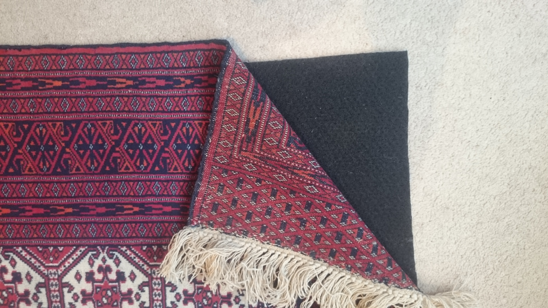 Preventing rug movement/damage