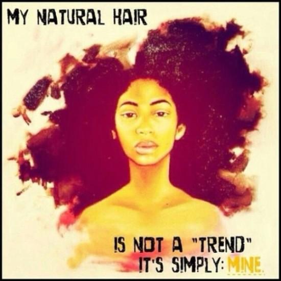 """Natural Hair... A """"TREND""""?"""