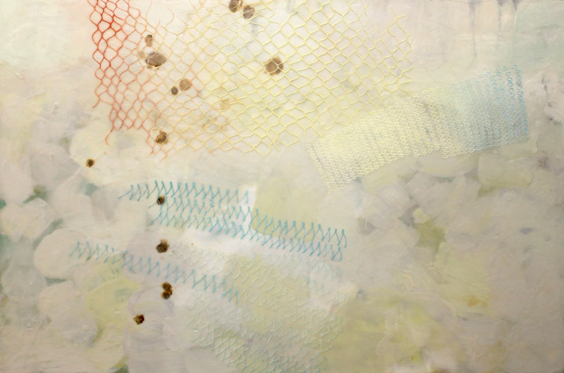 UNTITLED - 24X36 - ENCAUSTIC/PANEL - 2015