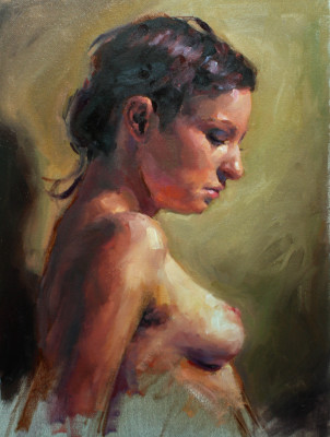ANDREA - 12X16 - OIL ON CANVAS - 2014