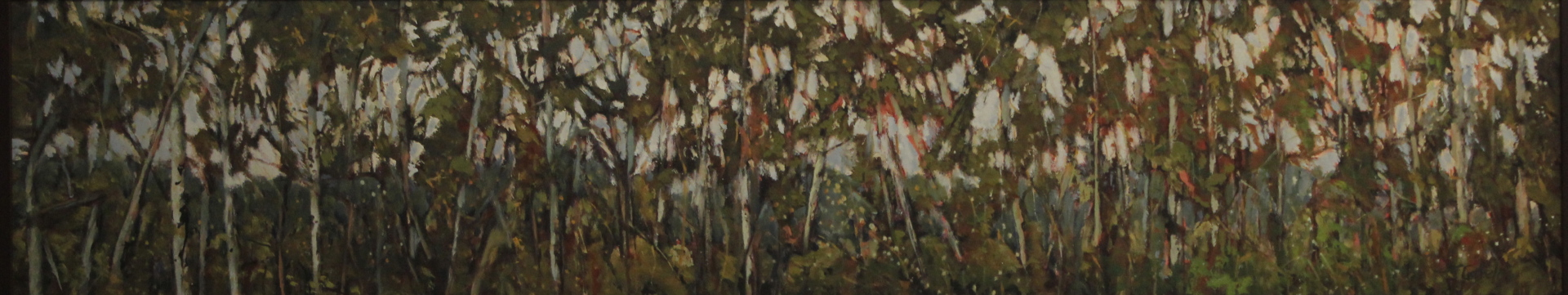 THE FARMERS FIELD - 12X48 - OIL ON PANEL - 2009