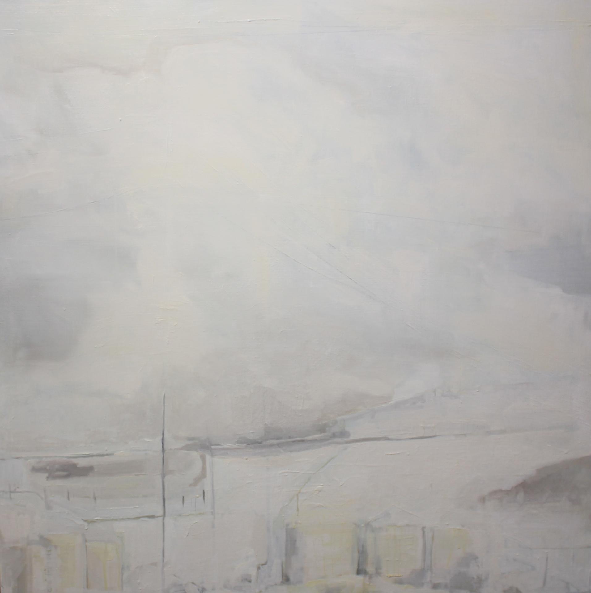 WINTER FIELDS - 36x36 - OIL ON PANEL - 2013