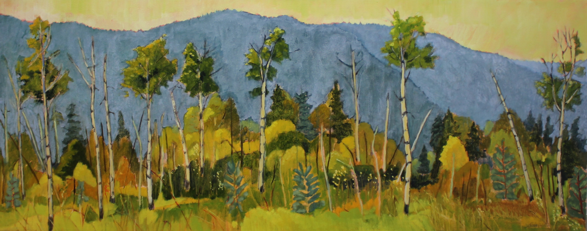 HOT SUMMER - 24X60 - OIL ON CANVAS - 2015