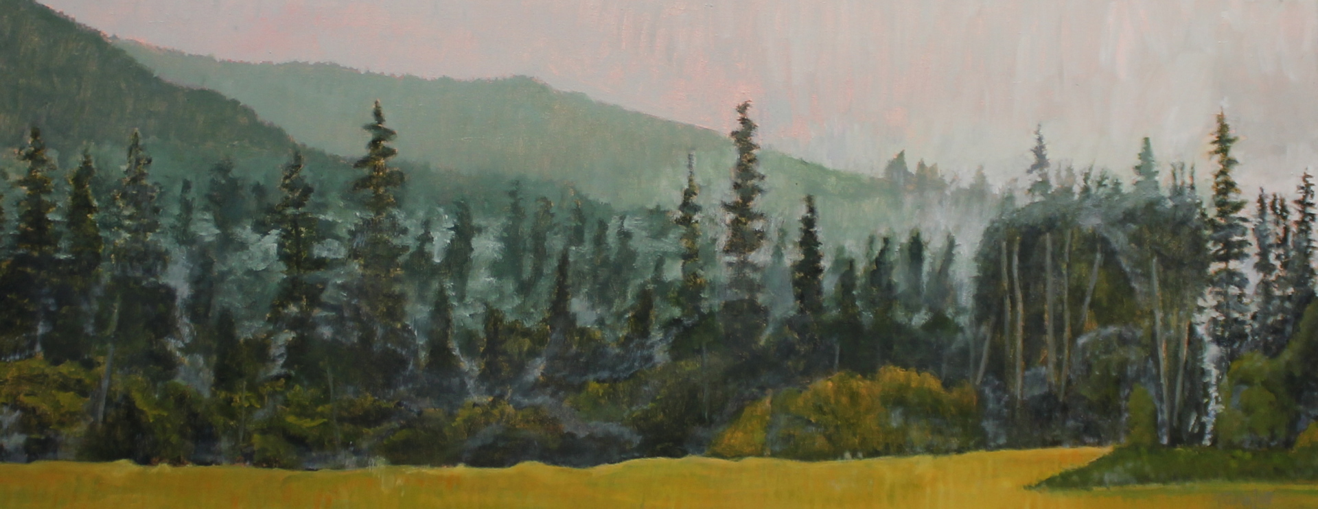 UNTITLED - 24X60 - OIL ON CANVAS - 2015