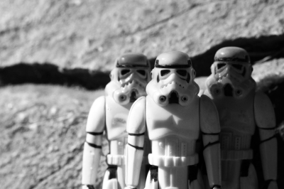 STORM TROOPERS - 20X30 - PHOTOGRAPH - 2016