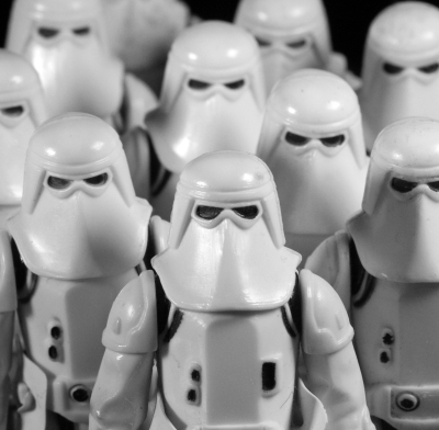 SNOW TROOPERS - 12X12 - PHOTOGRAPH - 2016