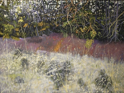 GRASSES - 36X48 - OIL ON PANEL - 2016