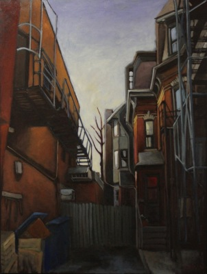 TORONTO #1 - 36X48 - OIL ON CANVAS - 2017