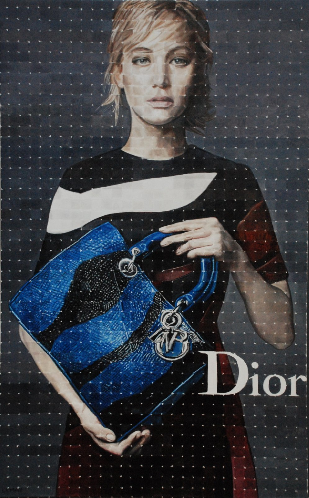DIOR - 48X30 - OIL ON CANVAS - 2016