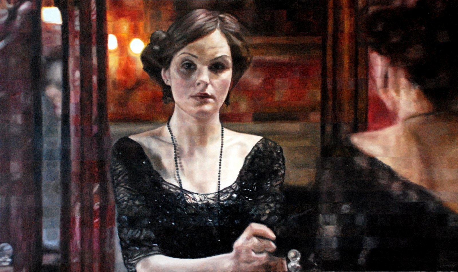 LADY MARY - 30x60 - OIL ON CANVAS - 2015