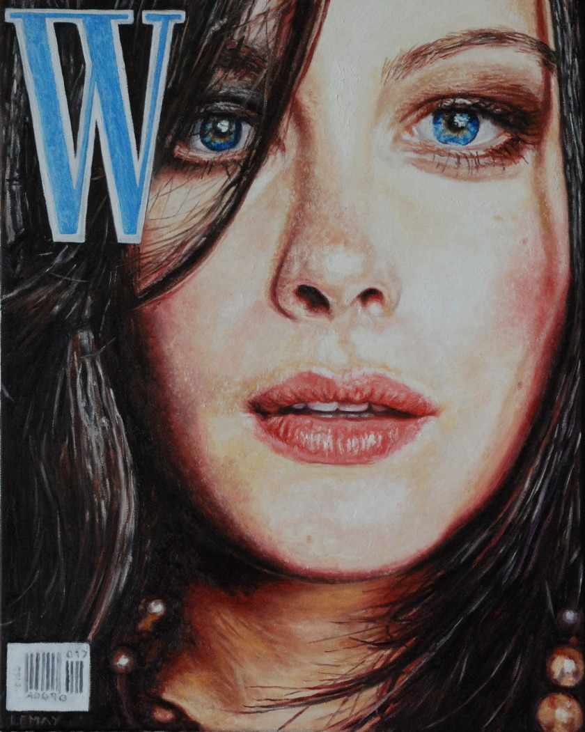 LIV TYLER - 20x16 - OIL ON CANVAS - 2015