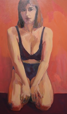 NADINE I-ACRYLIC ON CANVAS-40x25-1992