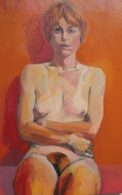 ANNA I-ACRYLIC ON CANVAS-25X38.5-1992