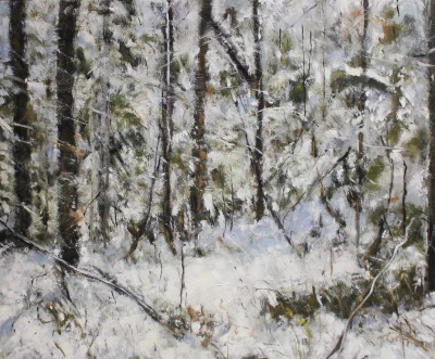 WINTER - 20x24 - OIL ON PANEL - 2009