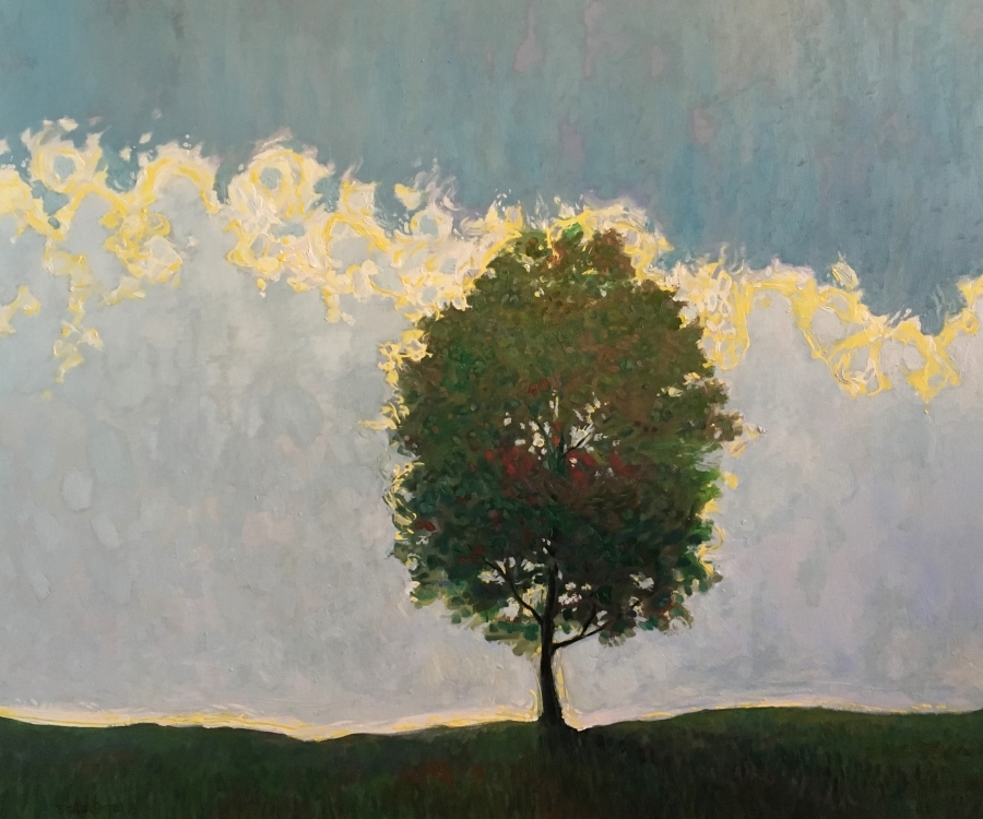 THE TREE - 40x48 - OIL ON CANVAS - 2018